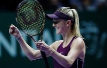 Исторические кадры: украинка Элина Свитолина впервые в истории Украины блестяще выиграла итоговый турнир WTA