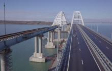 Новые фото скандального Крымского моста вызвали ажиотаж в Сети: сооружение оккупантов проклято