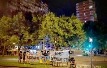 """Хорватия поддержала Украину: в Загребе фанаты провели акцию с плакатом """"Слава Украине"""" - фото и реакция украинцев"""
