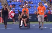 Покинула корт в инвалидной коляске: матч между Свитолиной и Бузарнеску закончился трагедией