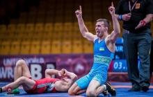 Украинский борец Яценко одолел россиянина и выиграл чемпионат Европы U-23 – кадры