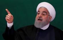 """Ситуация накаляется: иранский лидер Рухани грозится """"поставить на колени"""" США"""