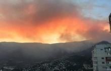 В Крыму 2-й день бушует мощный лесной пожар: оккупант не в состоянии спасти заповедник под Ялтой - кадры