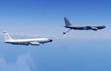 США отправили к Крыму четыре военных самолета, включая разведчик Global Hawk - РФ подняла на перехват Су-30