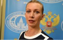 """Захарова пошутила про грабеж кораблей Украины и """"боеспособные"""" унитазы"""