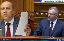 Парубий заставил Вилкула говорить в Раде на украинском языке: видео скандала попало в Сеть - нардеп опешил