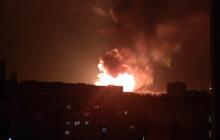 """""""Фуру подбросило и перевернуло на 2 метра"""", - Кропивницкий вздрогнул от мощных взрывов, бушует пожар: кадры"""