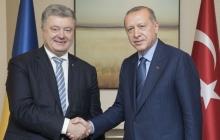 Порошенко провел встречу с Эрдоганом. Президент Турции поможет в освобождении узников Кремля