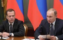 Путин готовится убрать Медведева? Громкий конфликт в российской власти обострился до предела