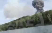 На фоне взрывов военных складов в Красноярске звучит украинская песня группы KAZKA - видео