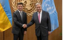 Зеленский обратился к Генсеку ООН Гутерришу с важной просьбой по Донбассу - детали встречи