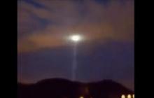 Мрачный знак апокалипсиса завис в небе над Грузией: Нибиру активировала луч смерти - видео
