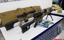 Украина продемонстрировала новое стрелковое оружие ВСУ на международной выставке в ОАЭ – фото