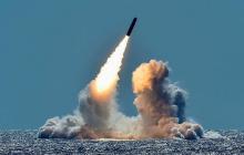 Двойной пуск атомной подлодкой USS Maine баллистических ракет Trident: США готовятся к большой войне
