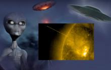 НЛО кубической формы промчался на большой скорости мимо Солнца - в Сети опубликованы кадры