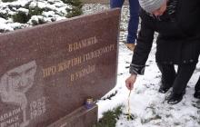 """""""Мы должны помнить о том кремлевском преступлении!"""", - жители освобожденного Краматорска вышли на улицу, чтобы почтить память жертв Голодомора"""