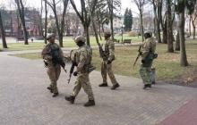 """Бойцы """"Альфы"""", боевые машины и беспилотники выведены на улицы городов Украины - в СБУ объяснились"""
