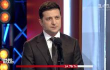 Зеленский витиевато высказался о Порошенко и Минских соглашениях: почти процитировал Кличко