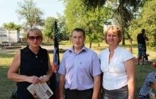 """Руководитель """"Донецкой республики"""" и его жена убежали в Польшу – кадры"""