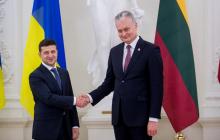 Президент Литвы сделал предупреждение Зеленскому перед встречей с Путиным