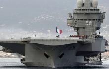 """Reuters: Коронавирус проник на авианосец ВМС Франции """"Шарль де Голль"""", более тысячи зараженных"""