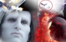 Накануне вторжения Нибиру в Дагестане уфологи запечатлели на видео рой ангелов