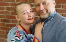 """Береза с женой поздравили украинцев с Днем вышиванки: """"Мы все разные, но мы ценим свое"""""""