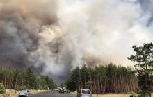 На Луганщине новые пожары – из школ экстренно эвакуируют детей, очевидцы говорят о поджогах