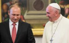 """Россию """"отшили"""" в Ватикане: Папа Римский раскрыл ложь Москвы"""