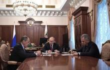 Россия официально разрывает ракетный договор с США: детали важной встречи Путина с Шойгу и Лавровым - кадры