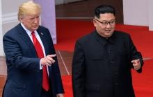 Встреча Трампа с Ким Чен Ыном во Вьетнаме: онлайн-видеотрансляция