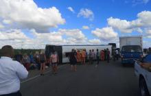 Авария автобуса с туристами из России в Доминикане - десятки пострадавших, включая детей: фото
