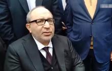 Кернес закатил скандал в Харькове, наговорив кучу антиукраинских лозунгов, и высказался об отмене декоммунизации