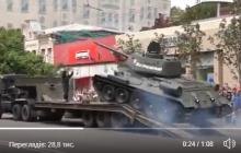 В России танк заглох прямо после парада и едва не рухнул на толпу: видео взорвало соцсети