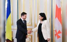 Переговоры Зеленского с Зурабишвили: один из главных вопросов - поездка в Москву на 9 мая