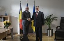 Мощный сигнал поддержки Украины из Бельгии: Порошенко и Мишель обсудили развертывание миротворческой миссии ООН на Донбассе