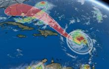 Во время урагана ʺДорианʺ НЛО с Нибиру закручивал облака в спирали для применения климатического оружия