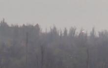 Бьют по своим: в АТО обнародовали видеодоказательство, как террористы под Песками обстреливают оккупированную часть Донецкой области, - кадры