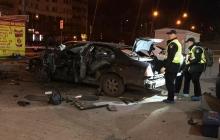 В Киеве взорвали машину офицера разведки с Донбасса: раненый диверсант подорвался сам и задержан на месте