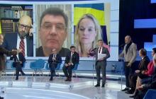 """Скандал в эфире у Шустера между судьей КСУ и главой НАПК: """"Это риторика 1937 года"""""""