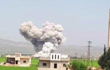 """Авиация РФ обрушила ракеты """"Точка"""" на сирийскую Хаму, погибли дети - кадры смертоносных ударов"""