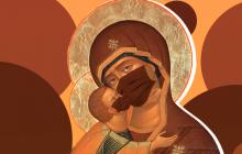 """""""Жуткий признак COVID-19"""": в России на иконе Богородицы появилась защитная маска"""