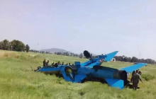 """В Сирии потерпел крушение истребитель """"Миг-21"""""""