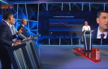 """Гройсман """"поставил"""" Тимошенко на место: скандал в прямом эфире смотрели миллионы – кадры"""