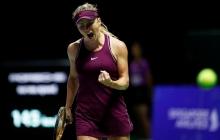 Триллер в Сингапуре: как украинка Свитолина в тяжелейшем матче пробивалась в полуфинал Итогового турнира - видео