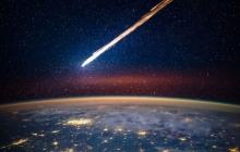 Над Беринговым морем взорвался огромный метеорит: появились кадры грандиозного явления