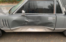 "Атака ""в лоб"" на автомобиль Алексея Мочанова попало на видео"