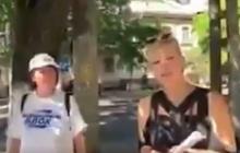 """Наташа из Одессы рассказала, чей Крым, и что происходит на Донбассе: вот, кто агитирует за """"Оппоблок"""" - видео"""