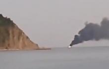 В акватории Черного моря мутант с Нибиру потопил рыболовецкое судно