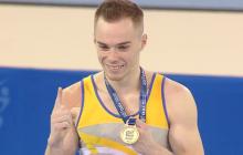 Украинский гимнаст Олег Верняев стал двукратным чемпионом Европы, опередив представителя России